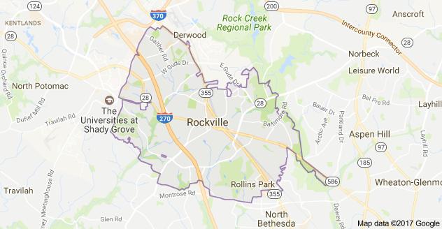 Rockville Map